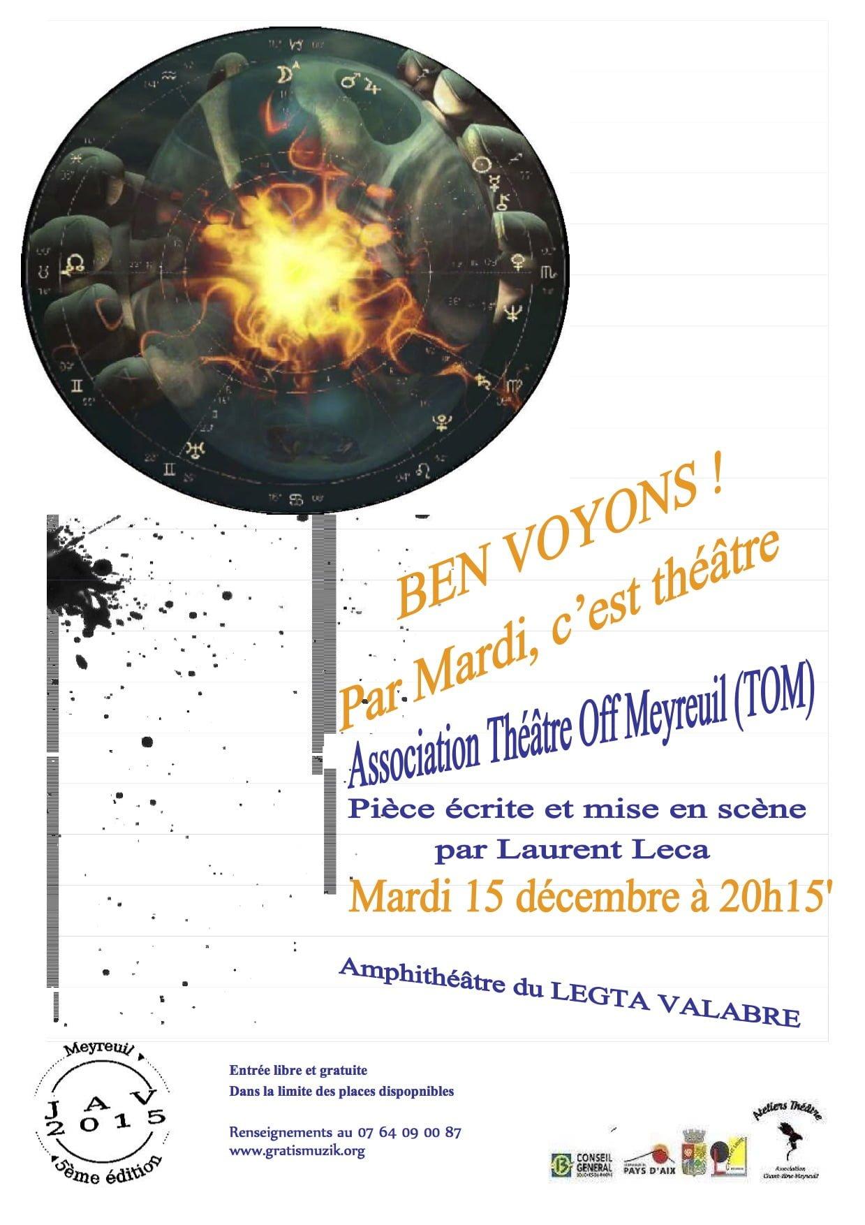 """""""Mardi, c'est théâtre"""" en images 1"""