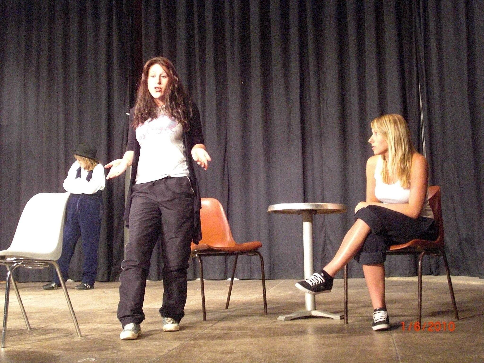"""""""Mardi, c'est théâtre"""" dans """"Diablogues"""" (Juin 2010) 6"""
