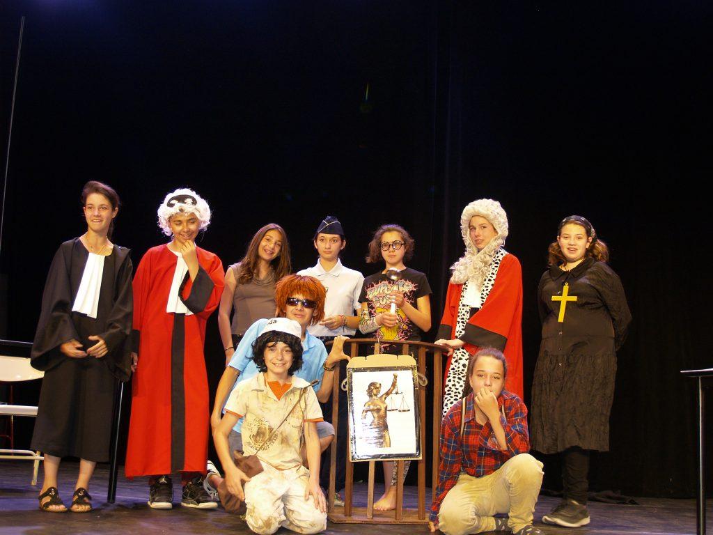 """une photo de la troupe """"Les Tamalou"""" 2014-2015 1"""