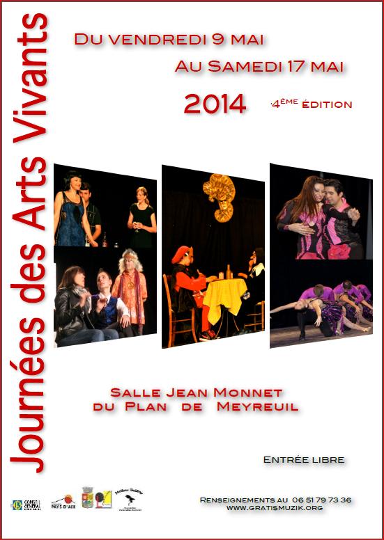 Les JAV 2014 : planning des Journées du 9 au 17 Mai 2014 1