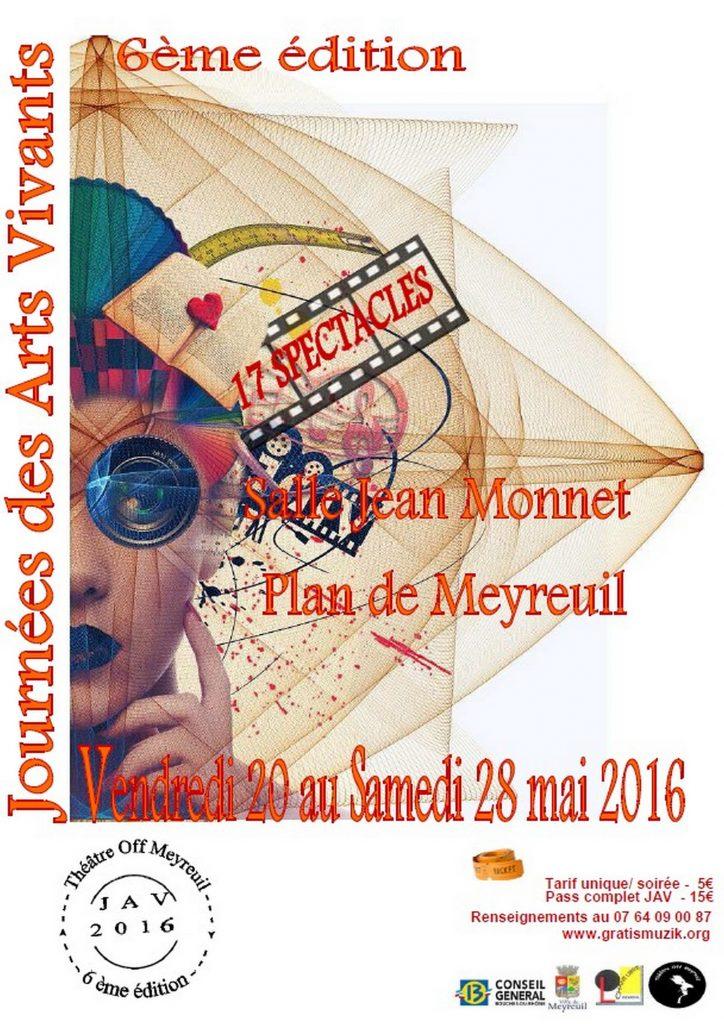 Affiche officielle des JAV 2016 de Meyreuil 1