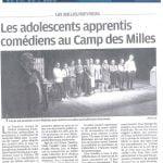 article La Provence du 14 Novembre 2018