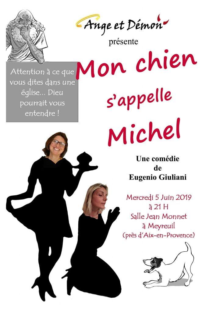 """""""Ange et démon"""" dans """"Mon chien s'appelle Michel"""" 1"""