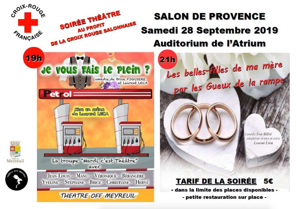 Salon double affiche des spectacles  du 28/09/2019