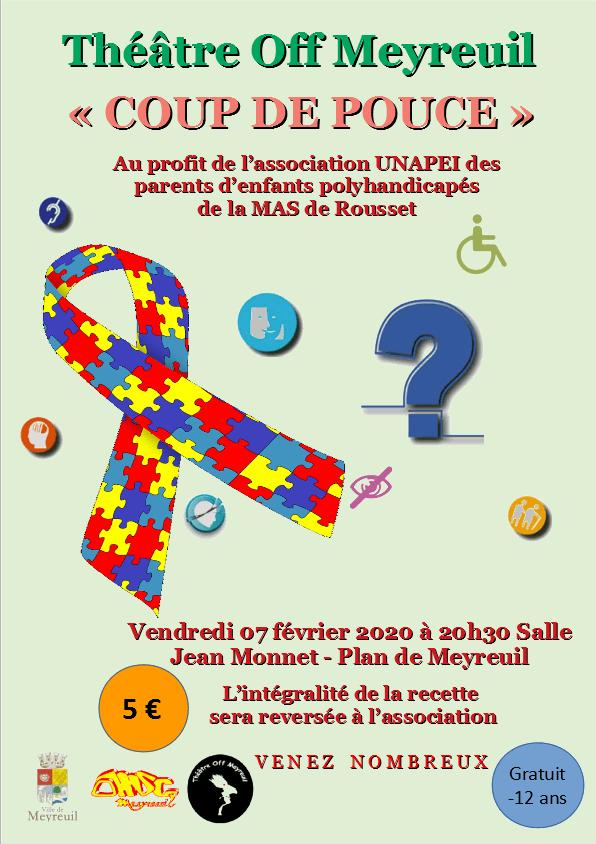 """T.O.M. donne son """"Coup de pouce"""" à l'UNAPEI à Meyreuil le vendredi 7 février 2020 1"""